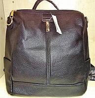 Сумка женская-рюкзак №D12 черный