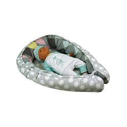 """Кокон для новорожденного """"Горошек"""" (910Горошок)"""