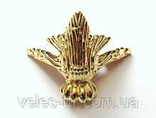 Ножка для шкатулок золото 30х32 мм