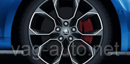 """Диск легкосплавный 7.5Jx19"""" XTREM - Skoda Octavia A7"""