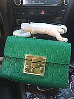 Яркая сумочка на плечо 'Padlock Gucci Signature' (реплика), фото 1