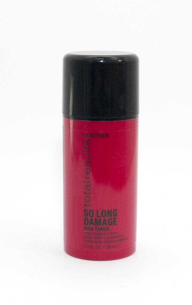 Термозащитный лосьон для длинных поврежденных волос  MATRIX