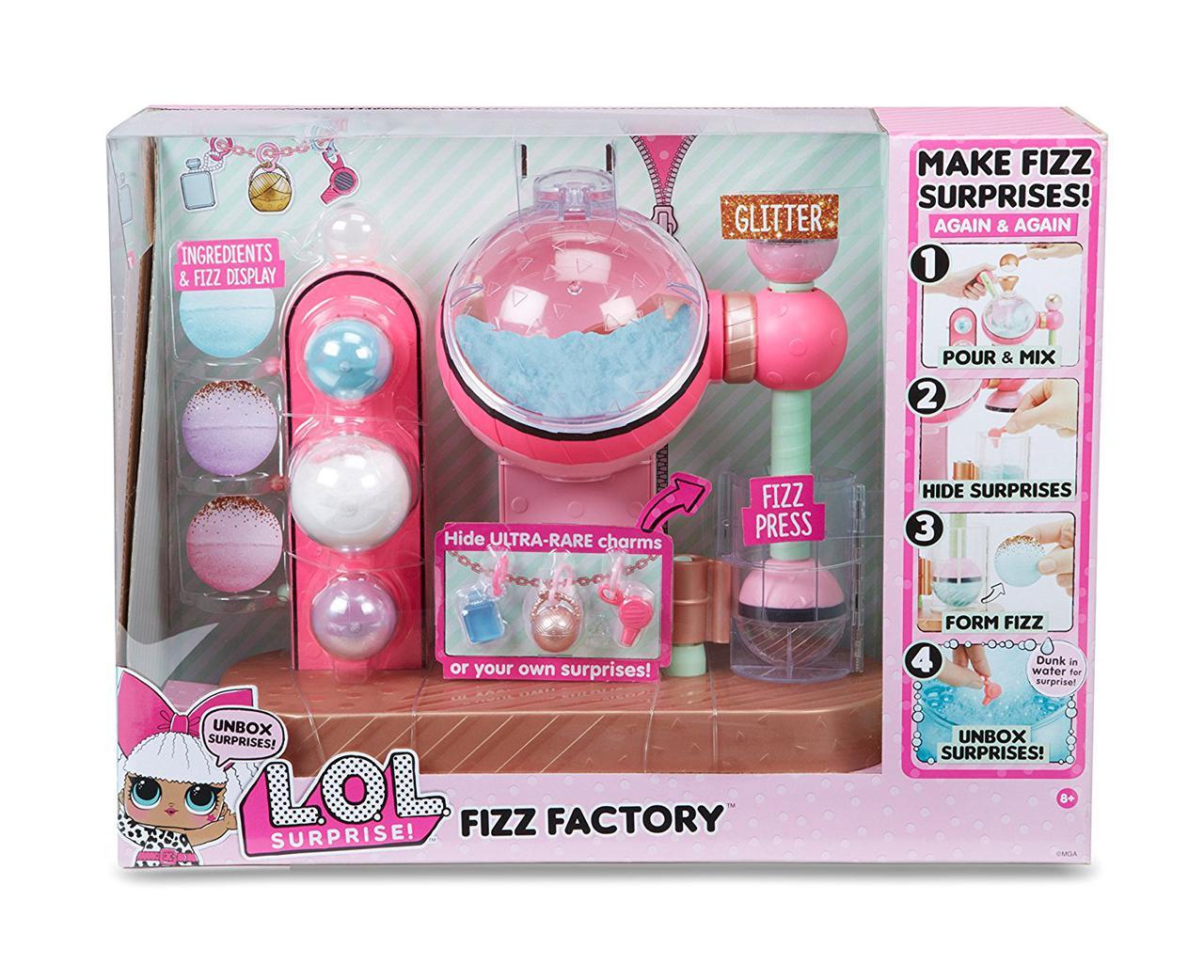 L. O. L. Surprise Фабрика по производству Бомбочек для ванны с сюрпризом Fizz Factory Maker Playset