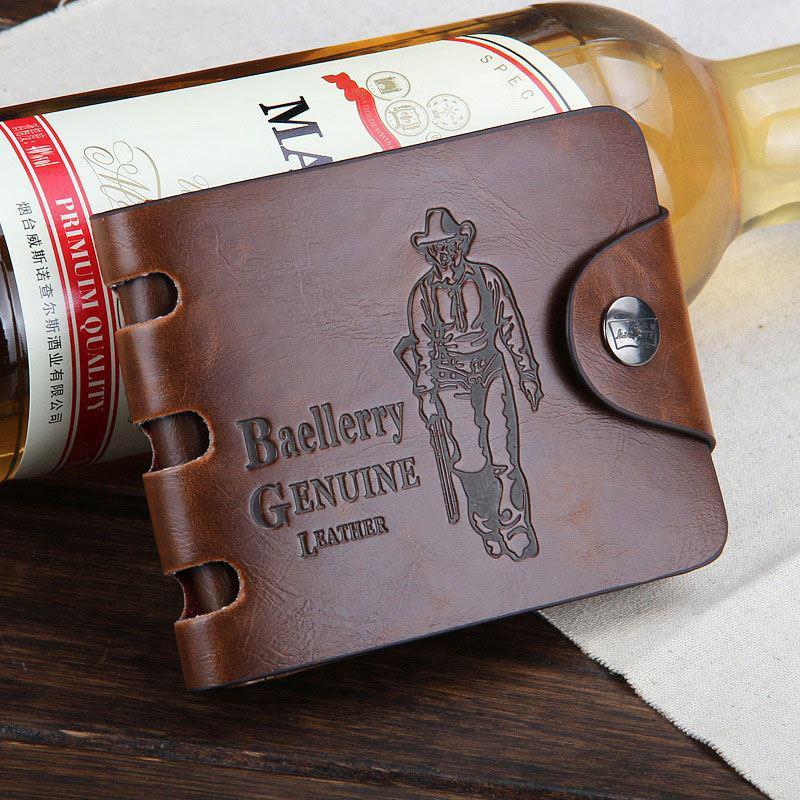 Мужской кошелек/портмоне повседневный Bailini, коричневый