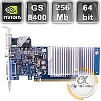 Видеокарта PCI-E NVIDIA Gigabyte 8400GS (256Mb/GDDR2/64bit/DVI/VGA/TV) б/у