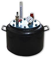 Автоклав бытовой на 8 банок стальной для консервирования домашний (побутовий автоклав стальний, консервування)