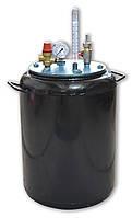 Автоклав бытовой на 24 банки стальной для консервирования домашний (побутовий автоклав стальний)