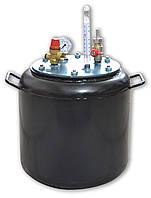 Автоклав бытовой на 16 банок стальной для консервирования домашний (побутовий автоклав стальний)