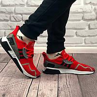 Кроссовки Adidas Equipment красные (реплика люкс класса 1:1)