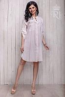 Женское платье рубашка свободного покроя, фото 1