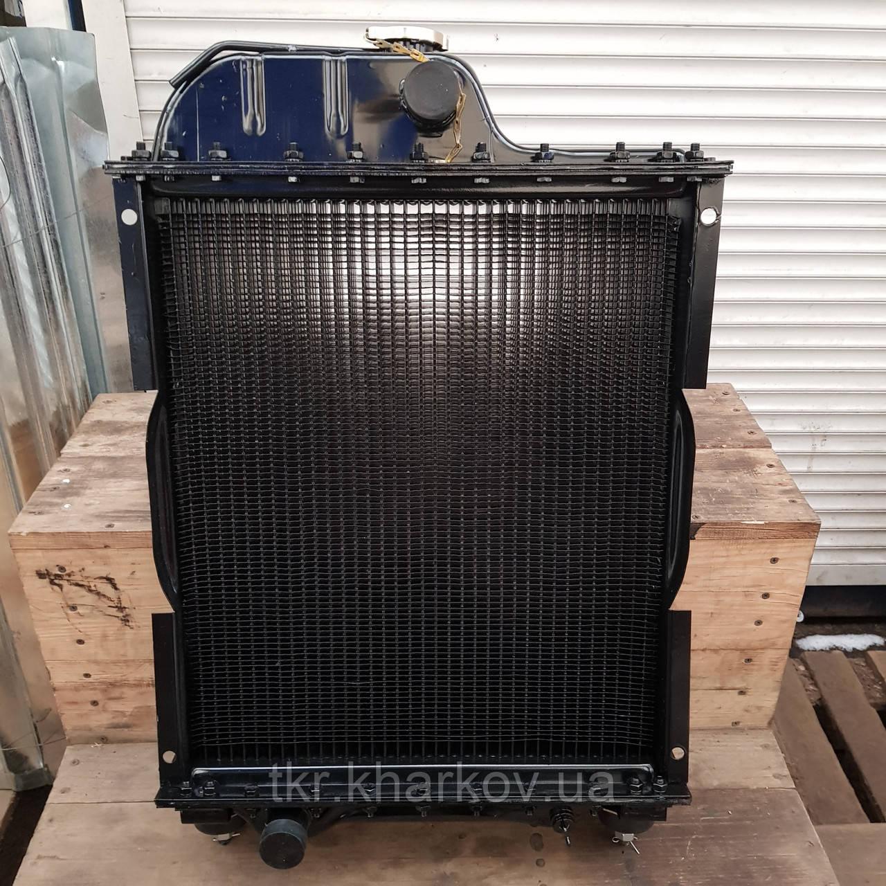 Радиатор водяного охлаждения МТЗ-80 70П-1301.010  Д-240,243 (4-х рядн.) алюминиевый