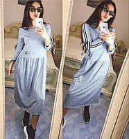 Платье с бантиками на рукавах / вискоза / Украина, фото 1