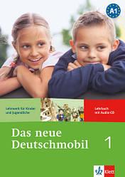 Das neue Deutschmobil 1 Lehrbuch + Audio CD (Учебник по немецкому языку с диском, уровень А1)