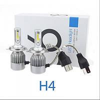 LED лампы H4 LED HeadLight C6