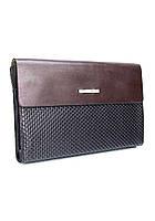201e6c4a4635 Мужской клатч кожаный мягкий коричневый Armani (копия ) 3410-3, цена ...