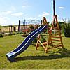Горка детская пластиковая скользкая, спуск 2,2 метра. Разные цвета., фото 7