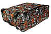 Рюкзак чемодан на колесах RGL, матрица, фото 7