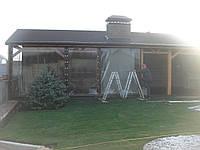 Уличные шторы ПВХ для летней кухни, фото 1