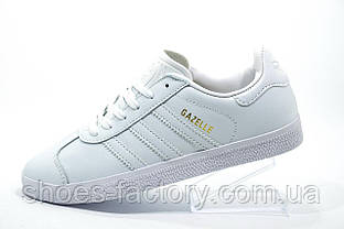 Женские кроссовки в стиле Adidas Gazelle OG, White\Белые