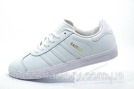Женские кроссовки в стиле Adidas Gazelle OG, White\Белые, фото 2