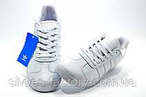 Женские кроссовки в стиле Adidas Gazelle OG, White\Белые, фото 3