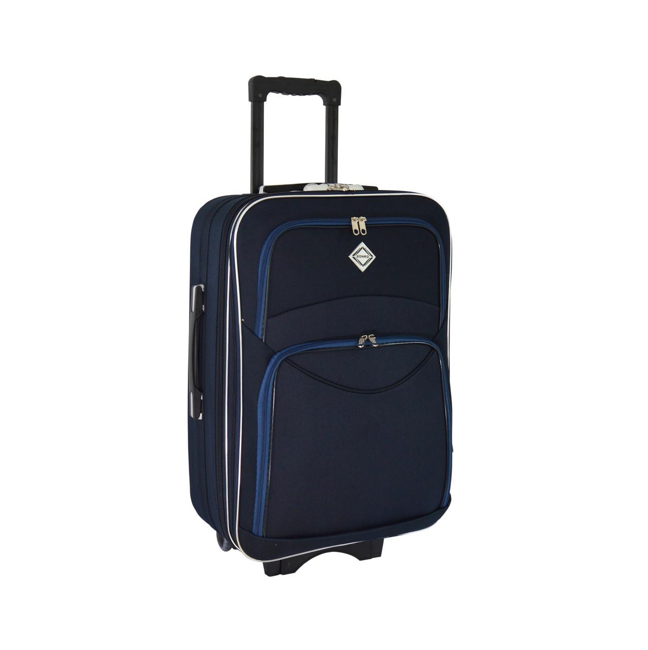 Чемодан Bonro Style (небольшой) синий