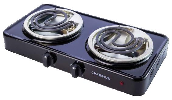 Электрическая плита спиральная - 200 (2 узких тэна) (ЕЛНА)