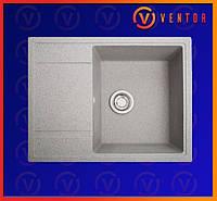 Кухонная мойка из искусственного камня(гранитная) Оптима серый, фото 1