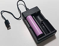 Зарядное устройство Canadd F2, (2x18650, Li-Ion, USB) (2 канала по 1A), фото 1