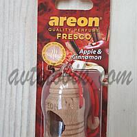 Ароматизатор воздуха гель Areon Fresco Apple & Cinnamon, фото 1