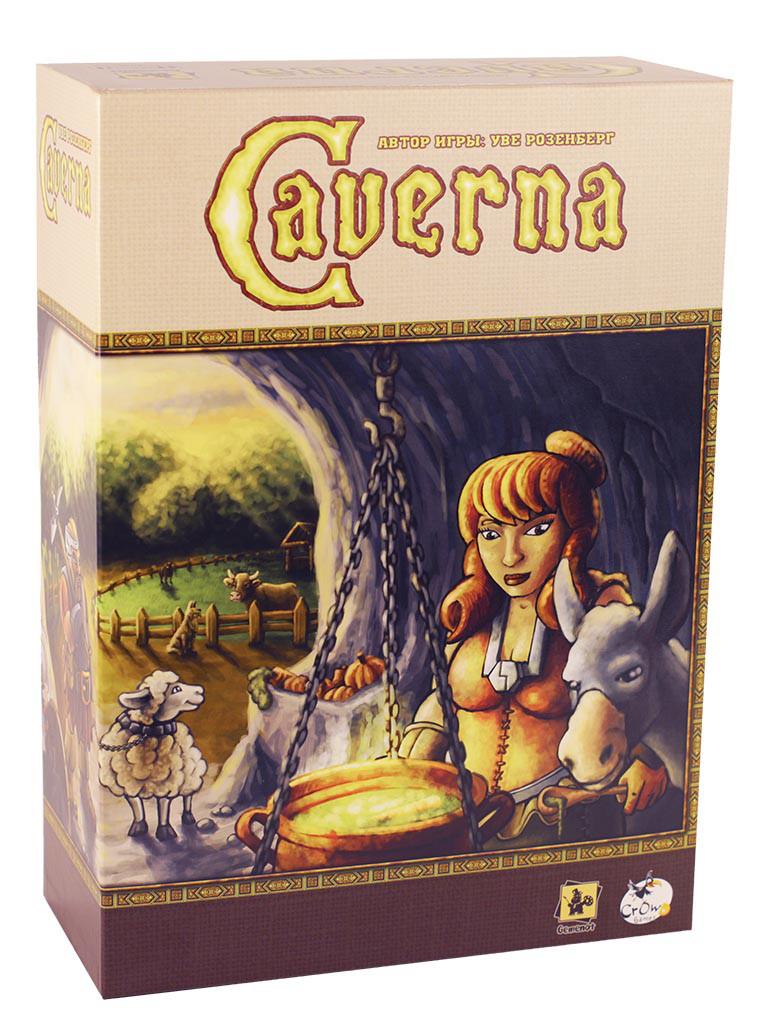 """Настольная игра """"Каверна: Пещерные фермеры (Caverna: The Cave Farmers)"""" Crowd Games"""