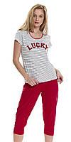 Пижама женская DOBRANOCKA 9458, размеры S,  M, хлопок, фото 1
