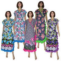 Обновление расцветок в серии длинных летних халатов больших размеров серии Oborka ТМ УКРТРИКОТАЖ!
