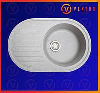 Керамогранітна кухонна мийка ЕЛЕГАНТ сірий, фото 1
