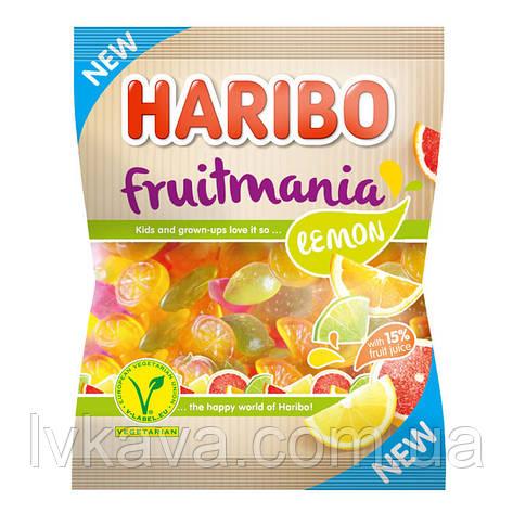 Желейные конфеты Haribo fruitmania lemon , 175 гр, фото 2