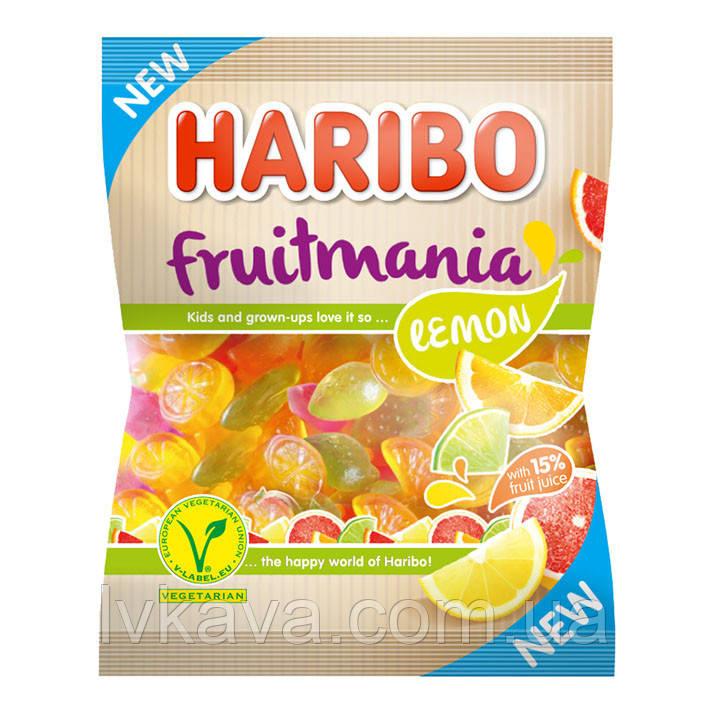 Желейные конфеты Haribo fruitmania lemon , 175 гр