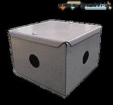 Коробка распределительная металлическая 100х100х75