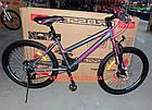 Горный велосипед Crosser Infinity 26 дюймов серый, фото 6