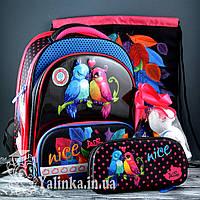Школьный набор DeLune (рюкзак+сменка+пенал+брелок) 9-114