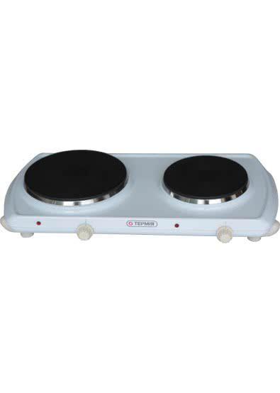 Электрическая плита дисковая - эмаль (2 диска) (Термия)