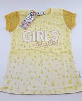 Детская футболка 5 6 7 и 8 лет Турция для девочки майка детские футболки майки на девочку
