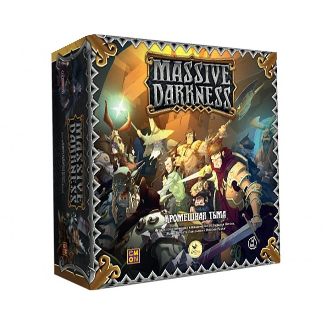 """Настольная игра """"Кромешная тьма (Massive Darkness)"""" Crowd Games"""