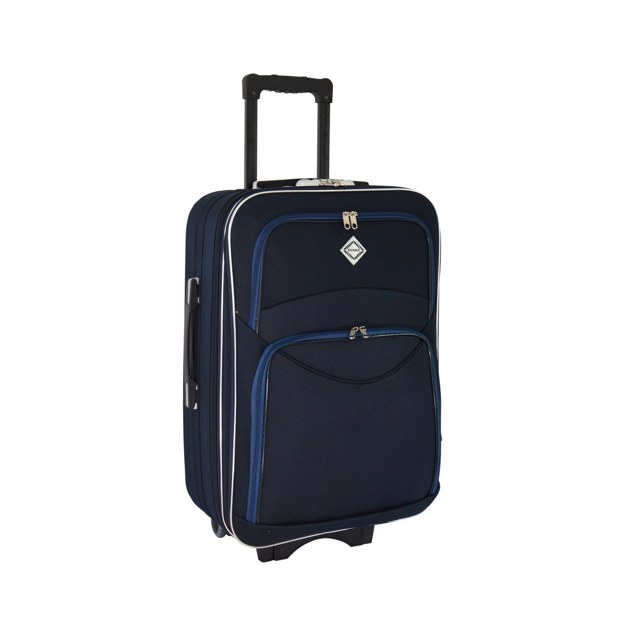 Чемодан Bonro Style (средний) синий