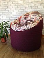 бескаркасное Кресло,кресло мешок Lounge (лаунж) ХХХЛ