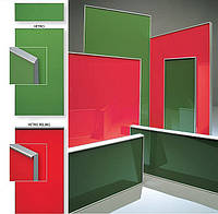 Фасад «Vetro», МДФ мебельные фасады, кухонные фасады BRW, плівк