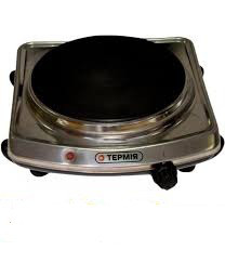 Электрическая плита дисковая - нержавейка (1 диск) (Термия)