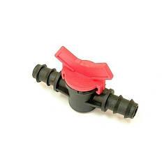 Кран соединительный для капельной трубки, фото 2