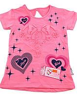 Детская футболка 3 и 5 лет Турция для девочки майка детские футболки майки на девочку