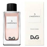 Dolce & Gabbana 3 L`Imperatrice EDT 100ml (туалетная вода Дольче Габбана 3 Императрица )