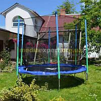 Батут для детей и взрослых 2,5 м + защитная сетка